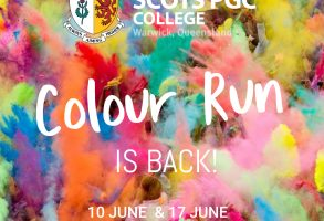 COLOUR RUN IS BACK!   Join the fundraising frenzy! featured image