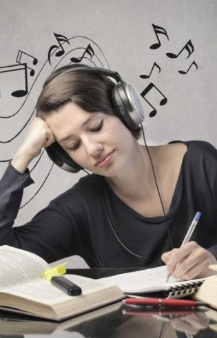 Is it OK to listen to music while studying? featured image